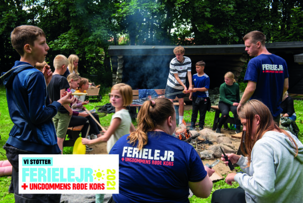Eskerod & Skovbøll støtter ferielejren